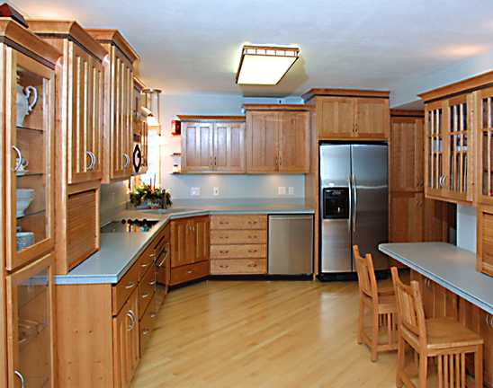 Advantages of Wooden Kitchen Furniture