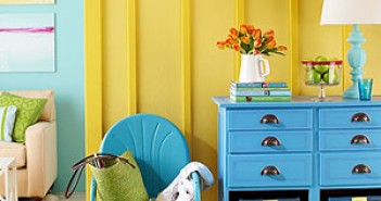 Blue and Yellow Color Schemes