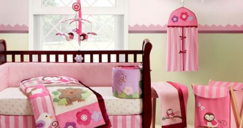 Color Combination for a Baby Girl's Nursery