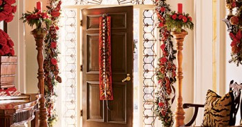 Decorating the Foyer for Christmas