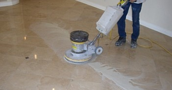 Cleaning Marble flooring